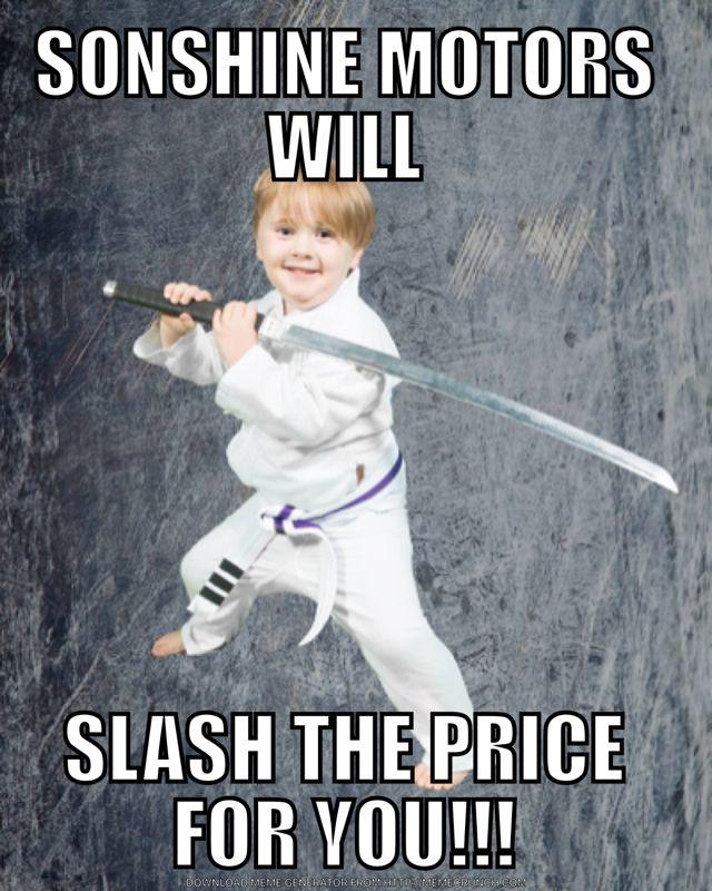 We Slash Prices